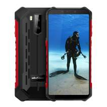 "Ulefone Armor X5 IP68 Waterproof Rugged Cell Phone Unlocked,Android 9.0 Outdoor Smartphone 5.5"" 18:9 FHD+,MT6763 3GB + 32GB,Dual 4G LTE Global Bands,GPS+GLONASS+NFC,5000mAh Battery,Shockproof(Red)"