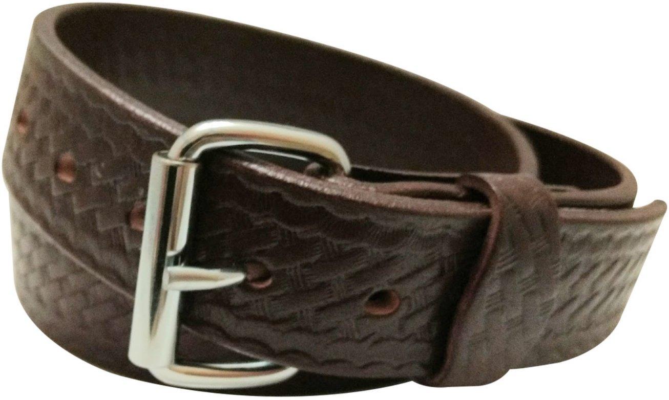 DTOM Buffalo Tough Concealed Carry CCW Leather Gun Belt - 14 ounce 1.5 inch - Handmade