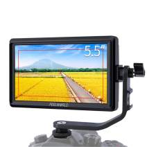 FEELWORLD S55 5.5 inch IPS in Field DSLR Camera Focus Monitor Assist Support 1280x720 HDMI 4K Input DC Output Include arm inclination