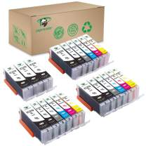 Supricolor Compatible PGI-270XL CLI-271XL Ink Cartridges, Replacement 270 271 Ink Cartridge for Use with Pixma MG7720 TS8020 TS9020 Printers - 3 Sets + 3 PGBK W/Gray (6PGBK 3Bk 3C 3M 3Y 3GY)