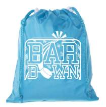 Mato & Hash Mini Hockey Drawstring Bags | Mini Gift Bags for Parties, Teams, and Promotional Events!