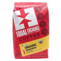 Equal Exchange Organic Ground Coffee, Colombian Bag, 12 Ounce (Pack of 1)