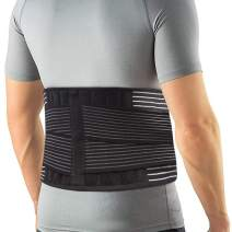 """Aptoco Lumbar Support Belt - Breathable Mesh Design and Adjustable Lower Back Brace-Immediate Relief for Back Pain, Herniated Disc, Sciatica, Scoliosis ,Slipped Disc (XL(Waist 33""""-39""""))"""