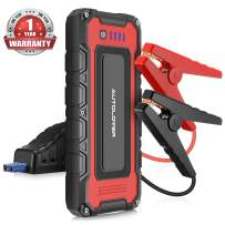 AUTOLOVER battery jump starter 1500A 20000mAh Portable Car Jump Starter 12V Auto Battery Booster With Dual USB Quick Charge, LED Flashlight and Waterproof Bag For Cars, Vans, Trucks, ATV