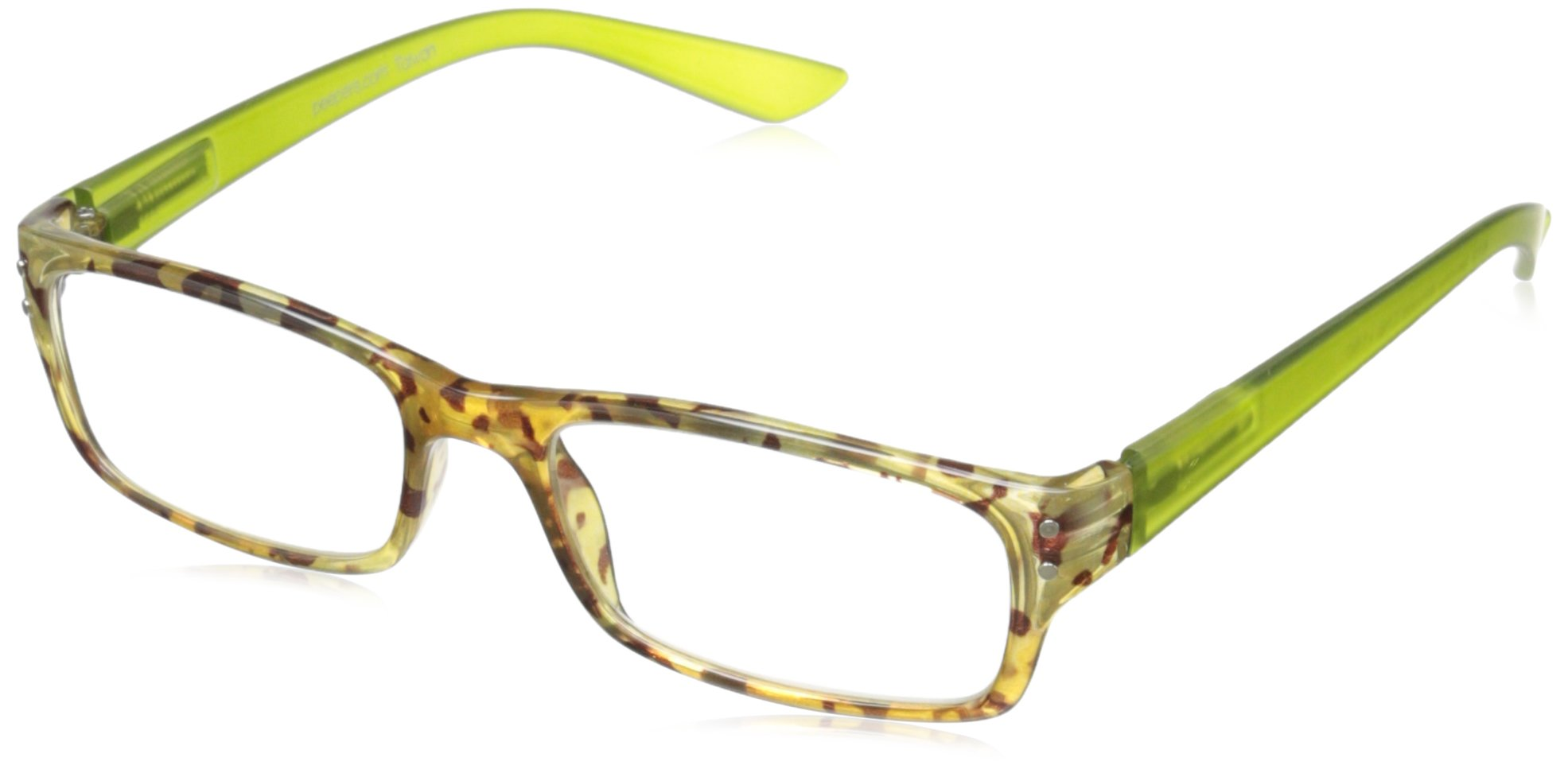 Peepers by PeeperSpecs Mocha Almond Chip Rectangular Reading Glasses