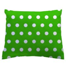 SheetWorld - Toddler Pillowcase Hypoallergenic Made in USA - Polka Dots Green 13 x 17