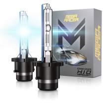 Mega Racer D4S D4C D4R D4S HID Bulbs 10000k Deep Blue 35W HID Headlights Xenon Light Bulbs D4C HID Lights D4R Headlight HID Xenon Bulbs HID Headlights Replacement Bulbs Pair Of 2