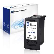 BJ Remanufactured Ink Cartridge Replacement for Canon PG-240XL 240 XL for Canon PIXMA MG3620 MG3520 MG2120 MG2220 MG3120 MG3122 MG3220 MG3222 MX372 MX392 MX432 MX452 MX472 MX512 MX522 MX532(1 Black)