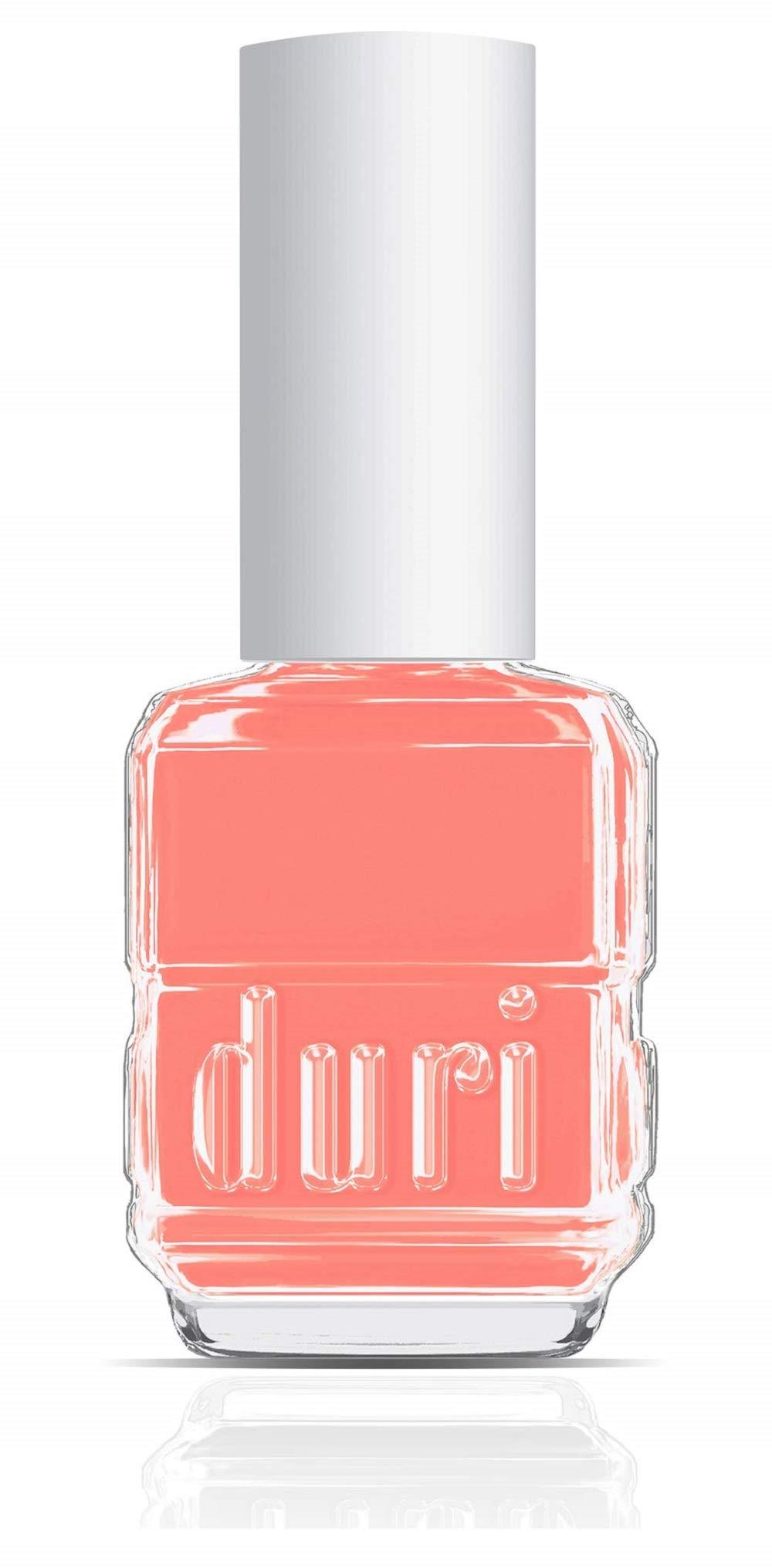duri Nail Polish, 599, Call Me Maybe, Pastel Coral Shade Of Polish, 0.5 fl.oz. 15 ml.
