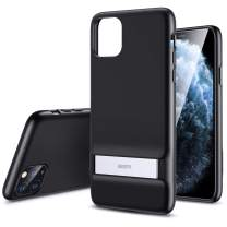 ESR Metal Kickstand Designed for iPhone 11 Pro Case, [Vertical and Horizontal Stand] [Reinforced Drop Protection] Flexible TPU Soft Back for iPhone 11 Pro (2019 Release), Black