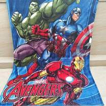 "The Avengers Throw Blanket Cartoon Blanket Bed Couch Blanket Kids Printing Throw Soft Cute Warm Cozy Plush fit Sofa Stroller Wheelchair Knee Suitable for All Seasons–60"" x 80""(TA) …"