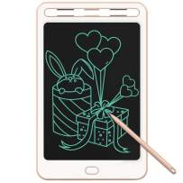 JONZOO Kids Writing Drawing Tablets Doodle Boards, 8.5 Inch LCD Writing Tablets Electronic Drawing Pads with Screen Lock and Pen, Gifts for Kids Adults at Home School Office