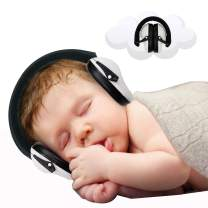 Baby Ear Protection - Noise Canceling Muffs for Babies Infant Tots Toddler Child - Kids Hearing Protection Earmuffs - Sound Proof Noise Canceling Headphones - Ages 0 and Above - White
