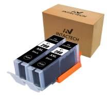 Intactech Compatible Ink Cartridges Replacement for Canon PGI-280XXL PGBK PGI-280 XXL Black Ink Tank 2 Pack(2 Black PGI 280xxl) Work with Pixma TS6120 TS8120 TR7520 TR8520 TS9120 TS6220 TS8220 TS9520