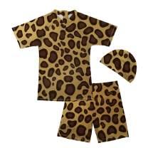chaqlin Kids Boys Rashguard Swimsuit Bathing Suit Swimwear Sets Toddler