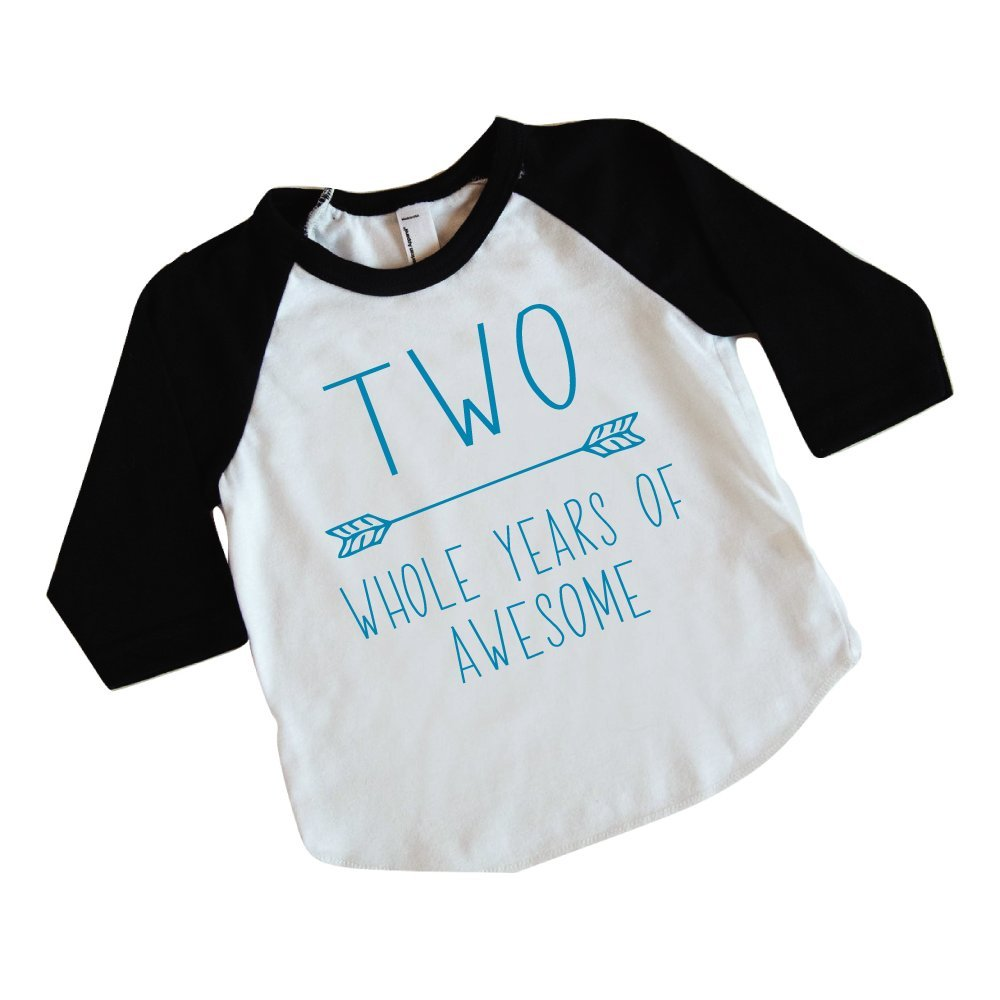 Bump and Beyond Designs Second Birthday Boy Shirt 2nd Birthday Shirt for Boys (Blue 2T)