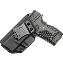 "Tulster IWB Profile Holster in Left Hand fits: Springfield Armory XDS 3.3"" 9mm/.45"