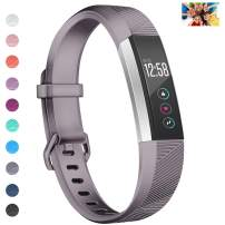 "Wekin Replacement Bands Compatible with Fitbit ACE, Soft Silicone Sport Accessory Wristband Strap for ACE,Alta HR (not fit for ACE 2) Fitness Tracker Specially Designed for Kid's Wrist (5.5""-6.49"")"