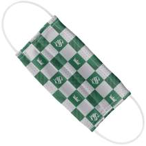 Harry Potter Slytherin Checkerboard House Pattern 1-Ply Reusable Face Mask Covering, Unisex