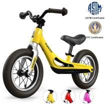 FLYING PIGEON FG 1936 Kid's Balance Bike-Toddler Bike for 3,4,5 Years Old-Bikes for Boys-Balance Bikes Toddlers-Walking Bicycle-Push Bike