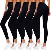 Premium Women's Leggings Soft High Waist Slimming Leggings Tummy Control Workout Yoga Pants