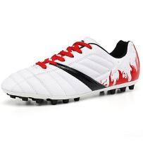 YING LAN Men's Boy's Turf Cleats Soccer Athletic Football Outdoor/Indoor Sports Shoes TF