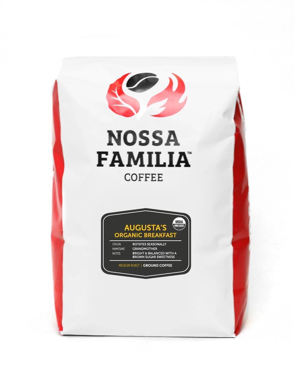 Organic-Fair-Trade-Coffee Medium-Roast, Augusta's 2lb Ground