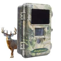ScoutGuard Hunting Trail Camera,36MP 1080P Motion Sharp Wildlife Game Camera with 100ft. Detection and Black IR Flash Range Night Vision Scouting Game Camera Waterproof Time Lapse Capable