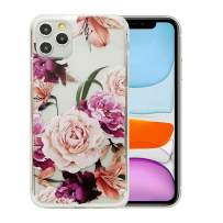 6.5 inch iPhone 11 Pro Max Case, Clear Flower Design Soft & Flexible TPU Ultra-Thin Shockproof Transparent Protective Floral Cover Case for iPhone 11Pro Max (2019)