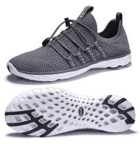 DLGJPA Men's Lightweight Quick Drying Aqua Water Shoes Athletic Sport Walking Shoes