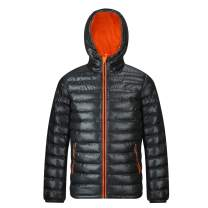 MADHERO Men's Puffer Jacket Water-Resistant Insulated Down Alternative Outerwear Coats