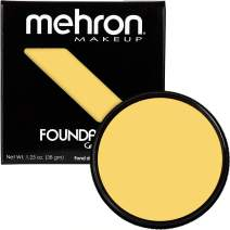 Mehron Makeup Foundation Greasepaint (1.25 oz) (YELLOW)