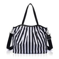 Women's Large Capacity Bag Multi-function Bag Travel Bag Handbag Messenger Bag Nylon Waterproof Cloth Flower Pattern