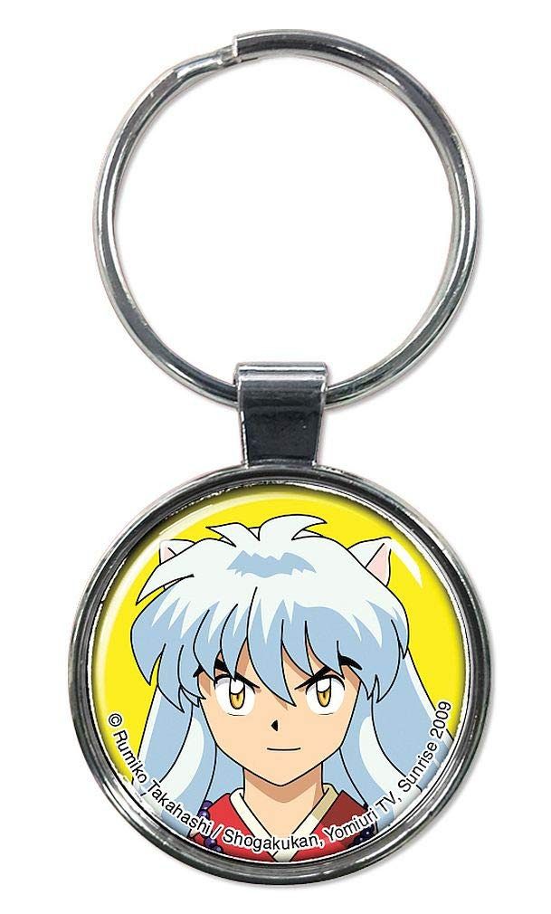 "Ata-Boy Inuyasha 1.5"" Fob Keychain for Keys, Backpack Pulls and More"