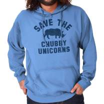 Save The Chubby Unicorns Cute Geeky Nerd Hoodie