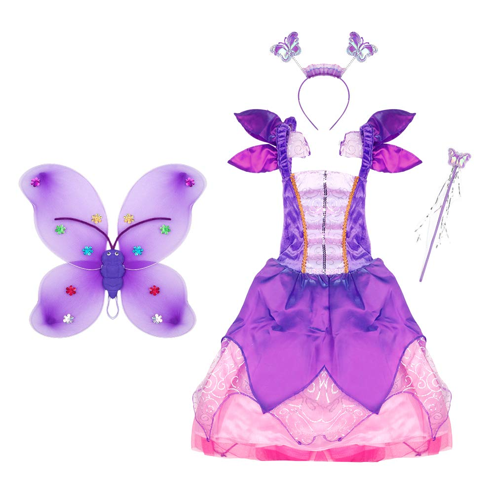 Fairy for the Day Inflatable Wings and Wand