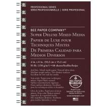 Bee Paper Super Deluxe Sketch Pad, 4-Inch by 6-Inch