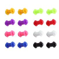 BodyJ4You 16 Pieces Plugs Kit Mix Colors Matching O-Ring 14G-14mm Gauges - 8 Pair