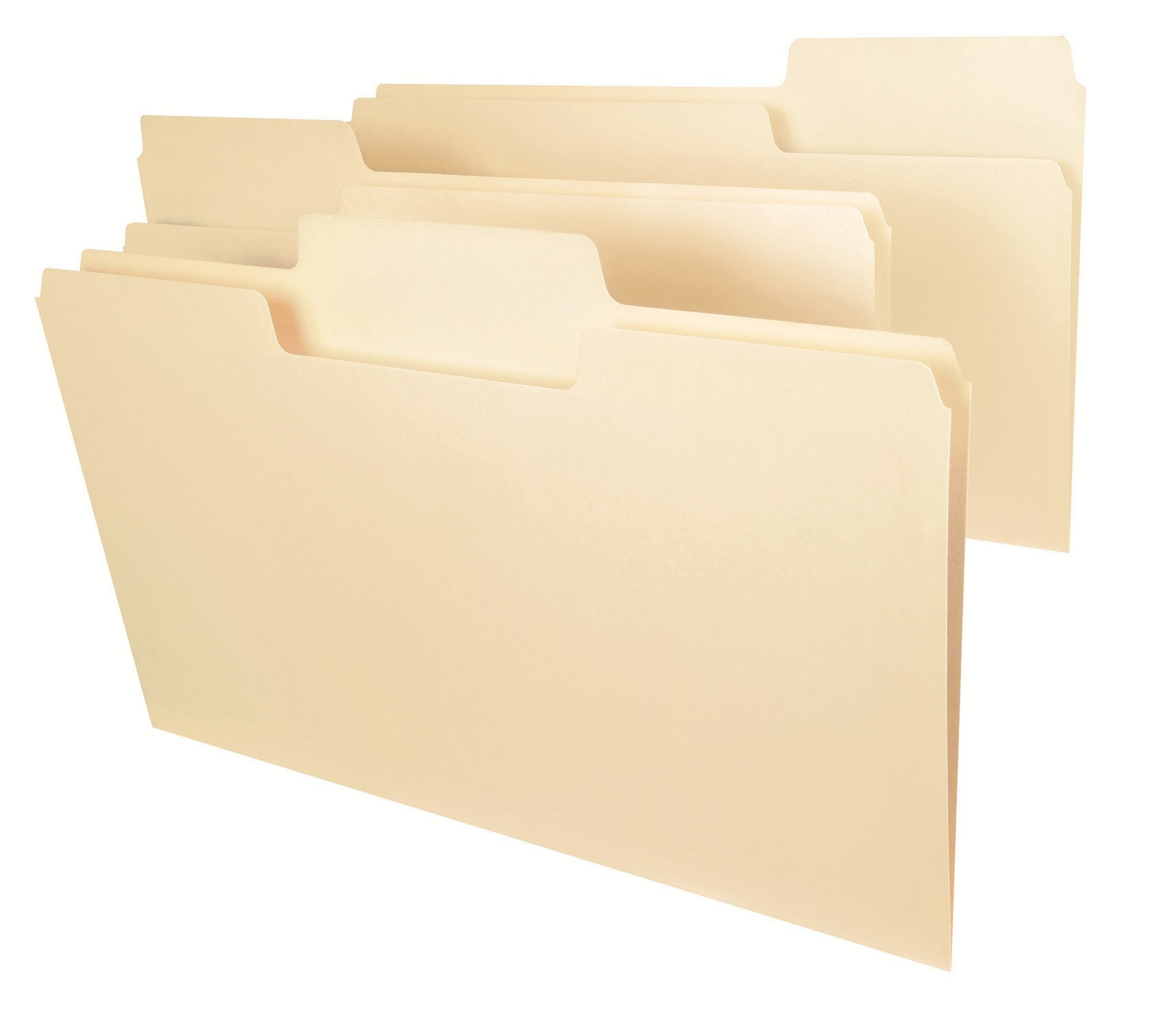 Smead SuperTab File Folder, Oversized 1/3-Cut Tab, Legal Size, Manila, 100 Per Box (15301)