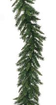 """Vickerman 9' x 12"""" Imperial Pine Traditional Artificial Christmas Garland - Unlit"""