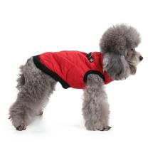 Vevins Dog Cold Weather Coat Vest Zipper Closure Cotton Paddedt Halloween Christmas Harness for Small Medium Dogs Pets