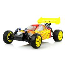 Exceed RC 1/10 2.4Ghz Electric SunFire RTR Off Road Buggy Fire Red