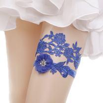 Lace Garter Set Wedding Garter Belt Flower Floral Design Garter for Bride