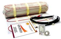 90 Sqft Electric Floor Heating System with Required GFCI Programmable Thermostat 120V