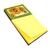 Caroline's Treasures 8060SN Flower - Sunflower Refiillable Sticky Note Holder or Postit Note Dispenser, Large, Multicolor