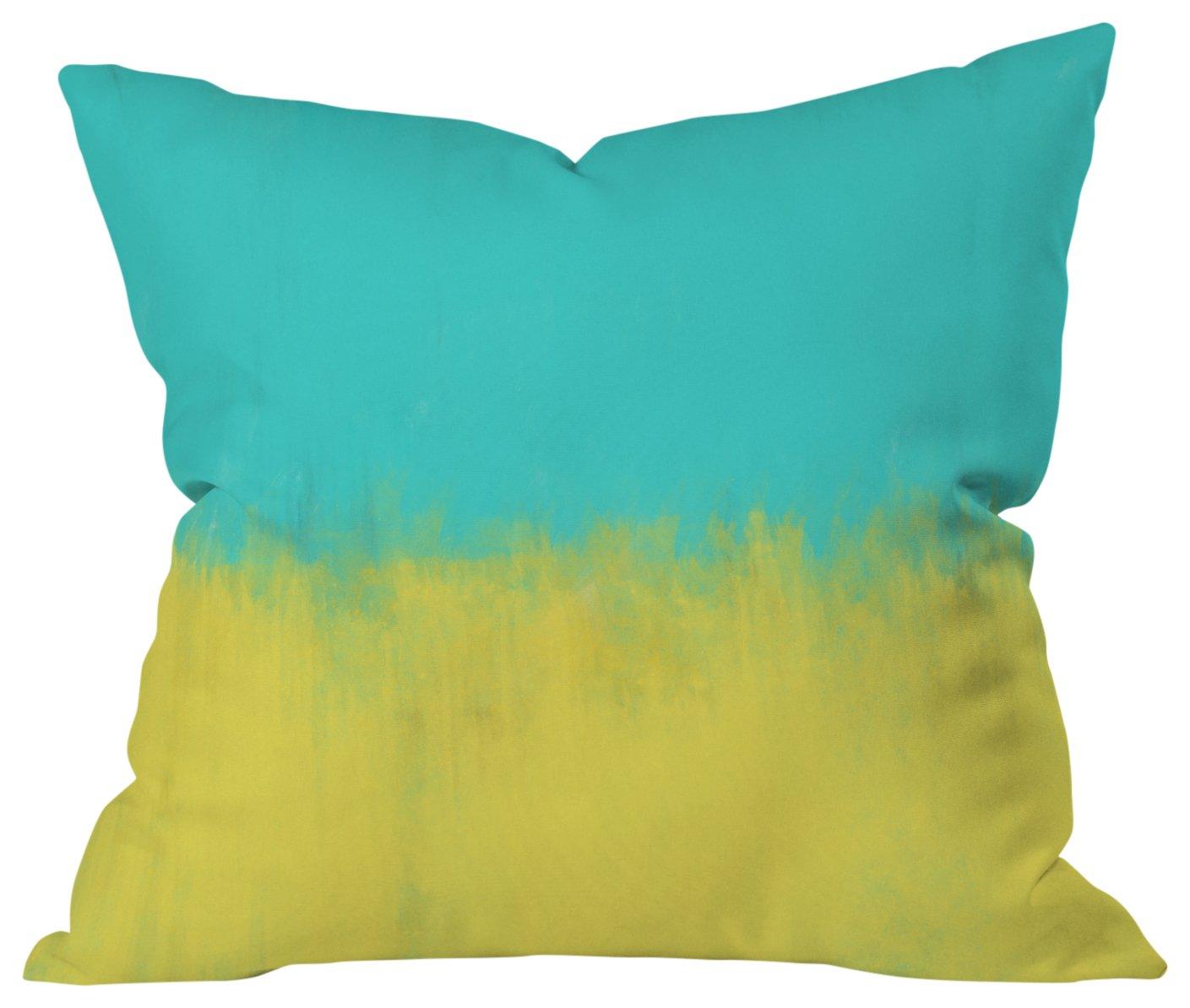 Deny Designs 52321-othrp16 Allyson Johnson Caribbean Indoor Throw Pillow, 16 x 16
