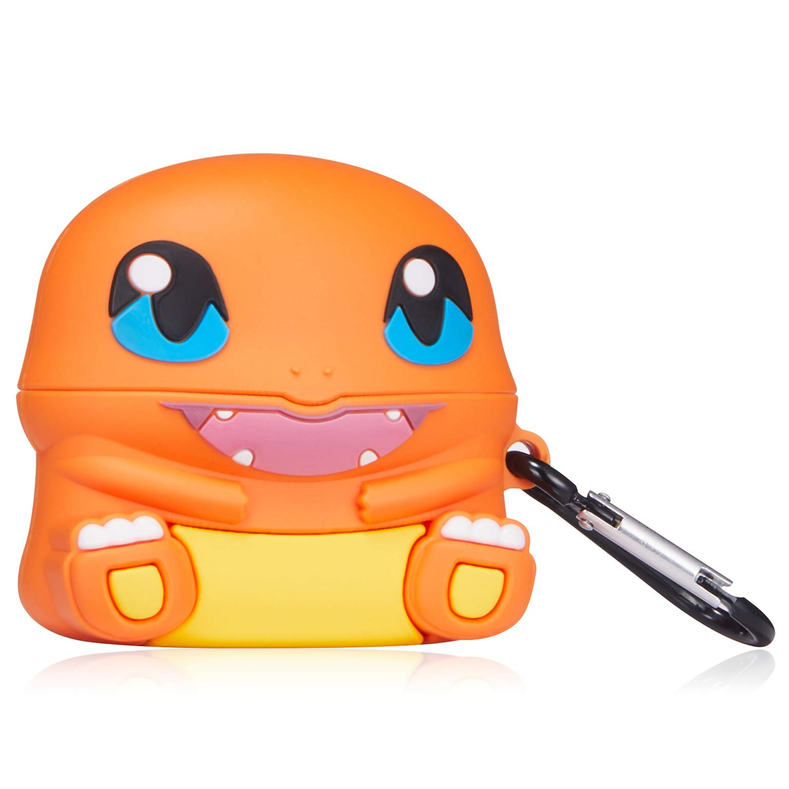 Gift-Hero for Airpods Pro/for Airpods 3 Case, Cute 3D Cartoon Kawaii Animal Character Silicone Shockproof Cover Designer Skin, Cool Fun Funny Fashion Case for Girls Kids Teens Air pods 3 (Fire Dragon)