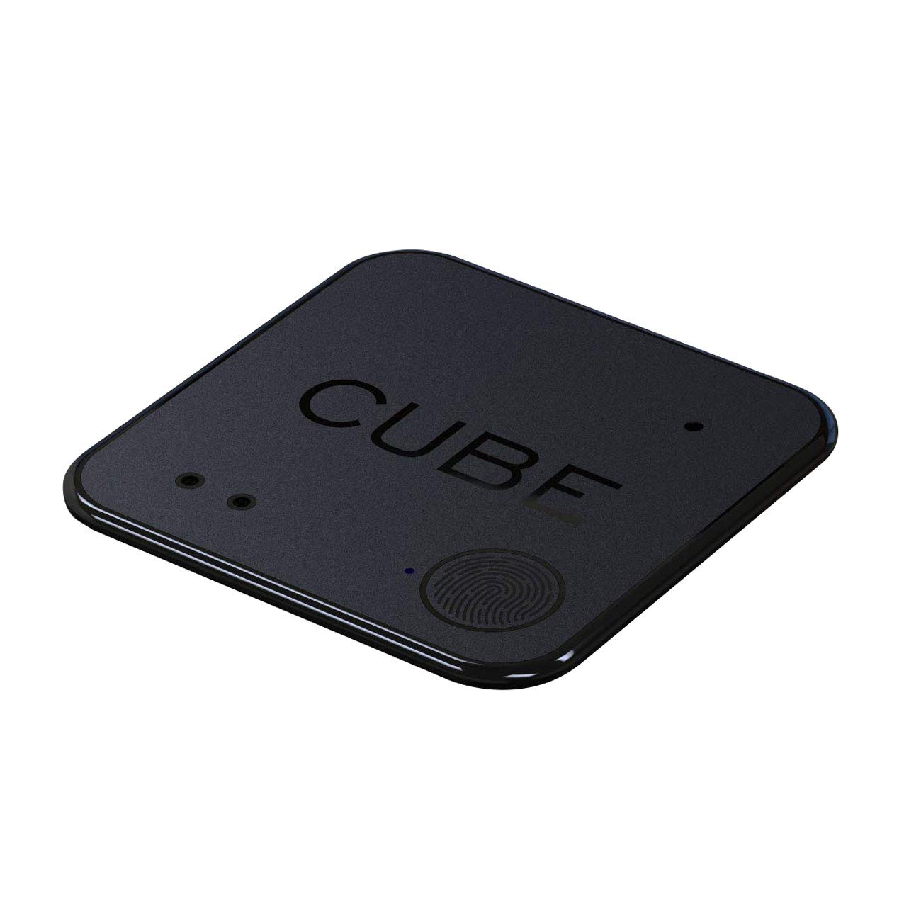 Cube Shadow Item Finder Ultra Thin Tracker Rechargable Battery Wallet Remote Control Bluetooth Locator