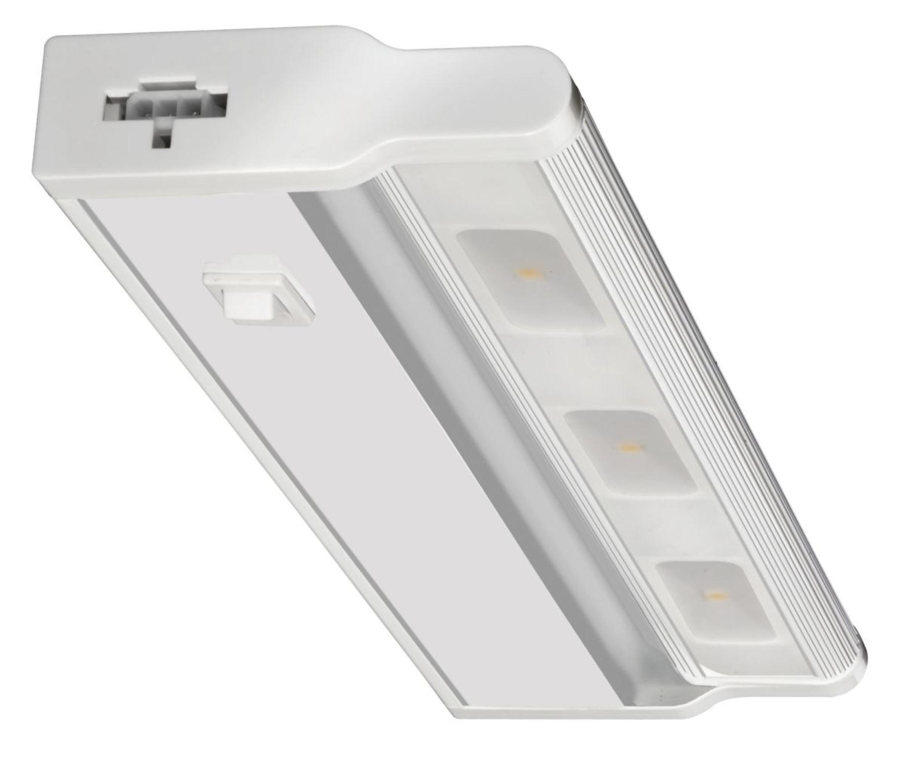 Lithonia Lighting UCLD 12 2700 WH M4 Under Cabinet LED Light, 3000K, 12.5 Watt, 24-Inch, White