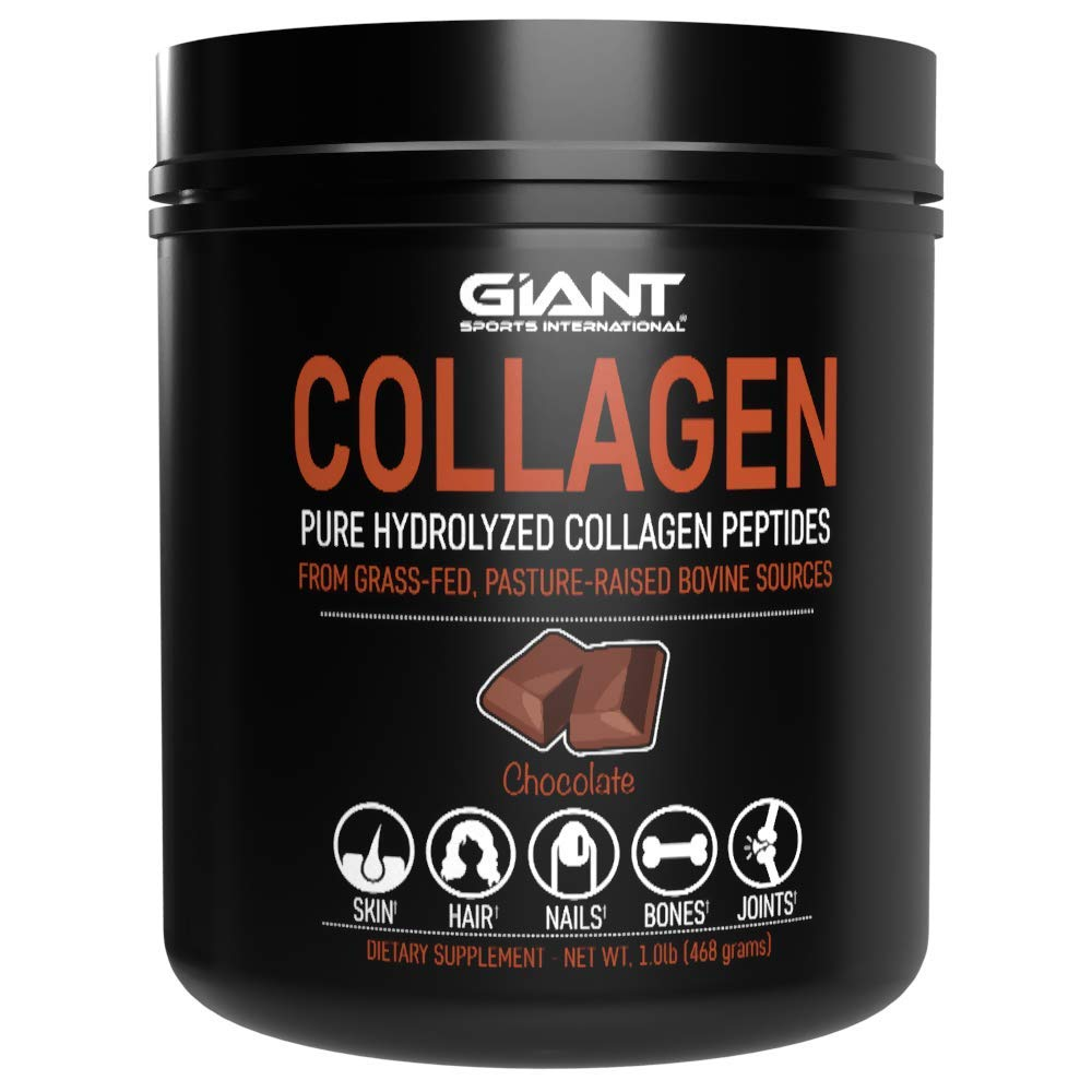 Collagen Peptides - Hydrolyzed Complete Powder with All Essential Amino Acids, Grass Fed, Pasture Raised, Type 1 and Type 3 – Chocolate